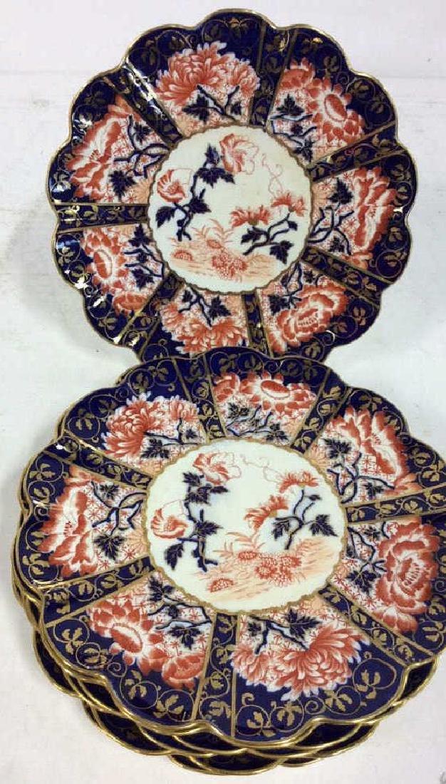 Set 8 THE FOLEY CHINA English Porcelain Plates
