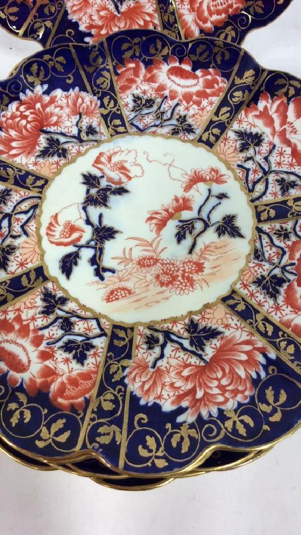 Set 8 THE FOLEY CHINA English Porcelain Plates - 2