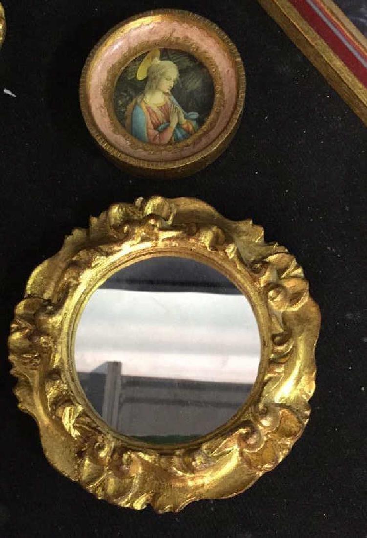 Group Miniature Carved Gold Leafed Frames - 2