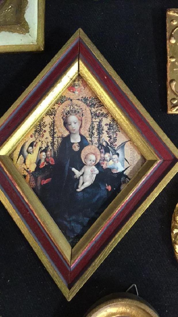 Group Miniature Carved Gold Leafed Frames - 3