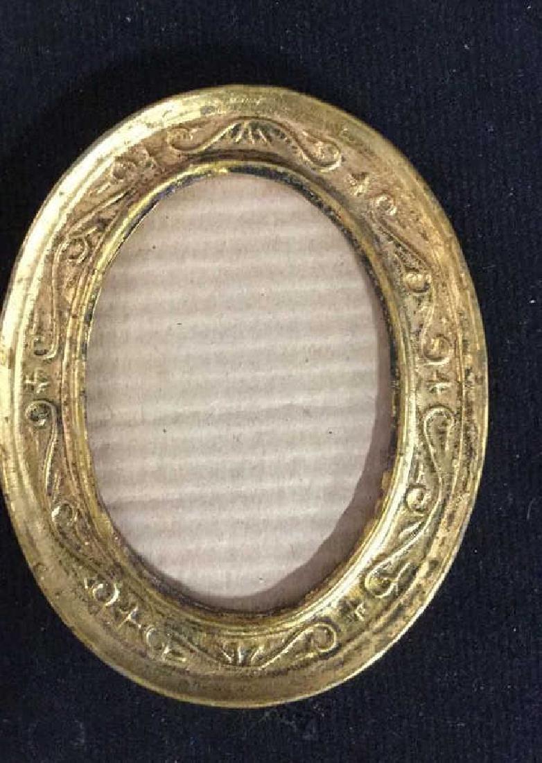 Group 5 Miniature Carved Gold Leafed Frames - 2