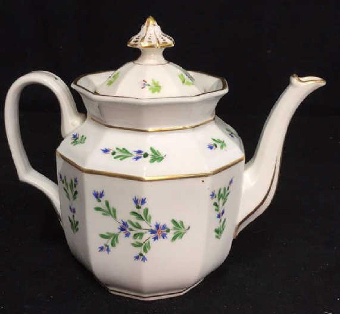 Vintage Hand Painted Porcelain Tea Pot