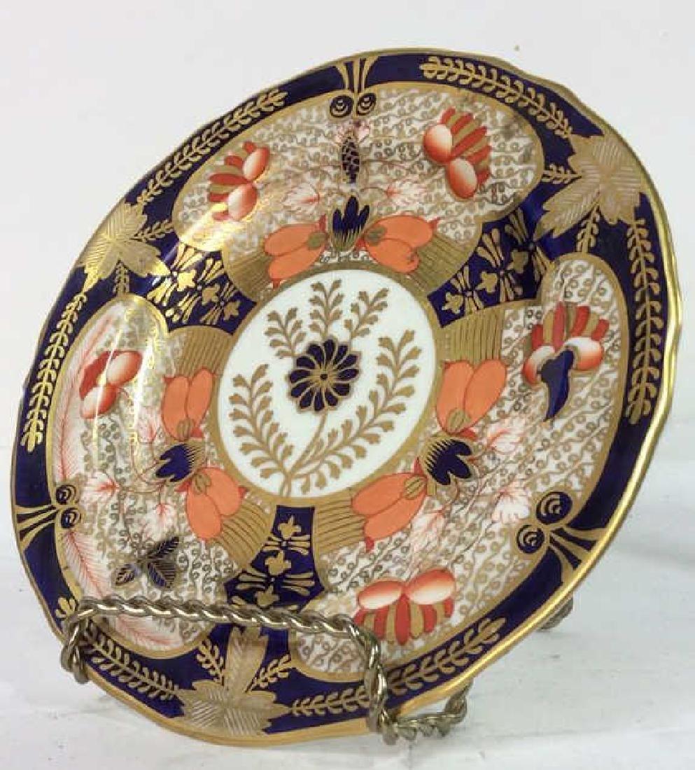 Pair ROYAL CROWN DERBY ENGLAND Plates - 4