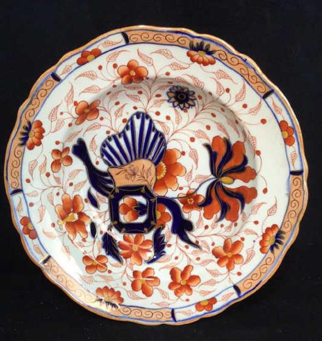 Set 10 Vintage Imari Plates and Bowls - 2