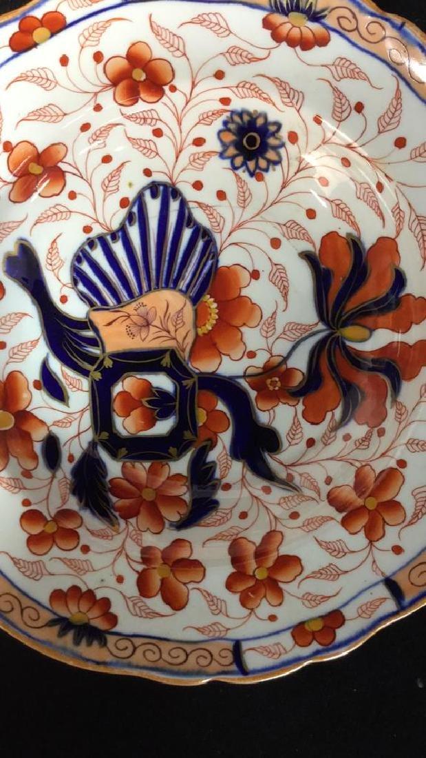 Set 10 Vintage Imari Plates and Bowls - 5