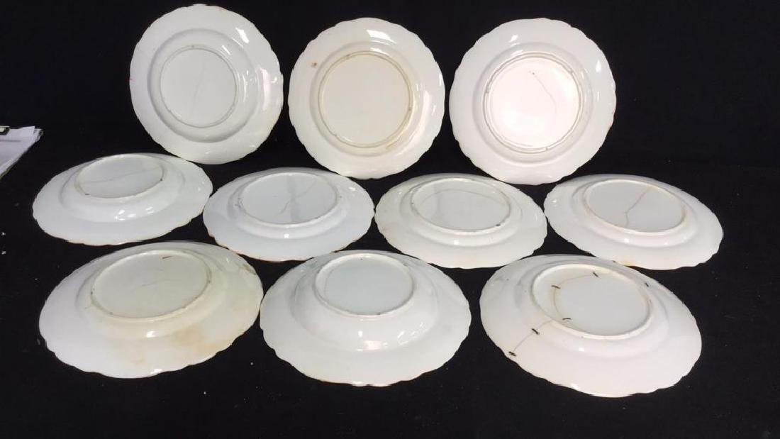 Set 10 Vintage Imari Plates and Bowls - 7