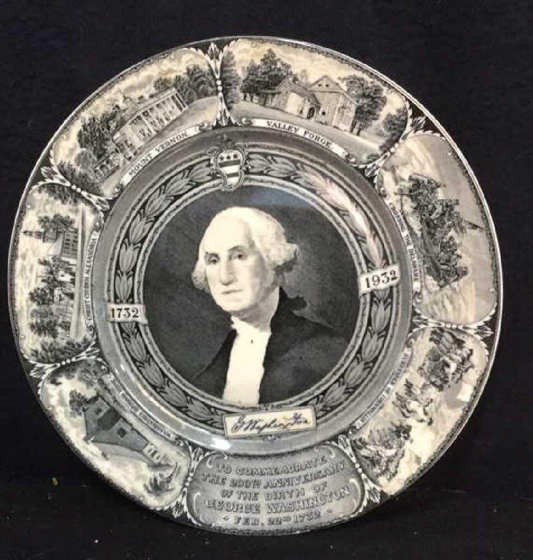 Bi-Centennial George Washington Plate , Lamberton