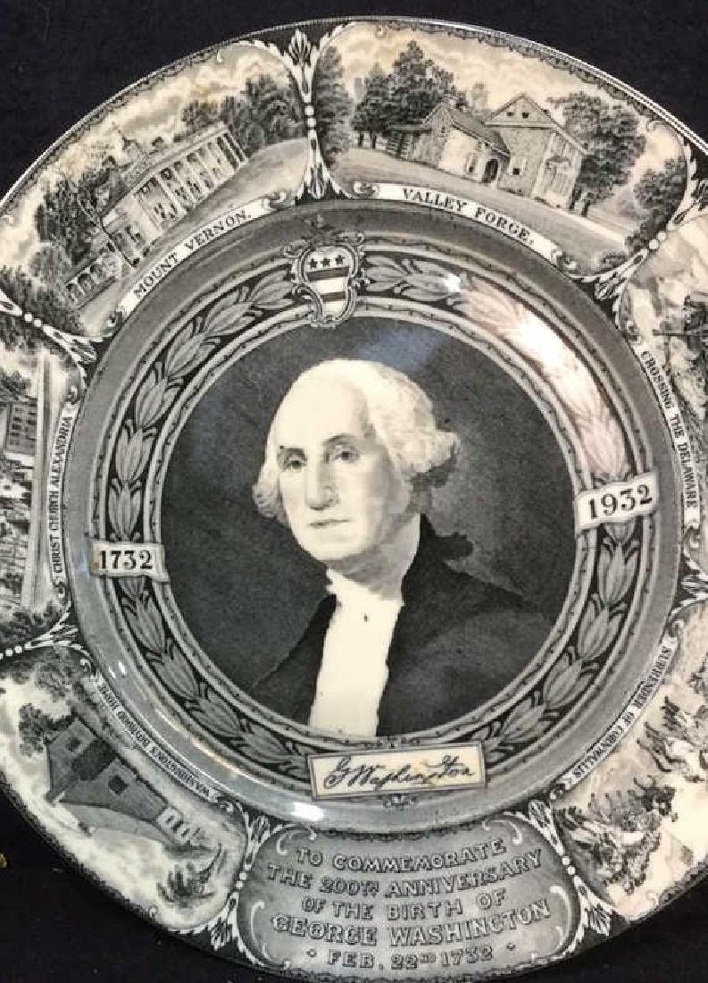 Bi-Centennial George Washington Plate , Lamberton - 2