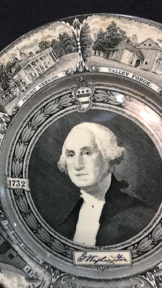 Bi-Centennial George Washington Plate , Lamberton - 3