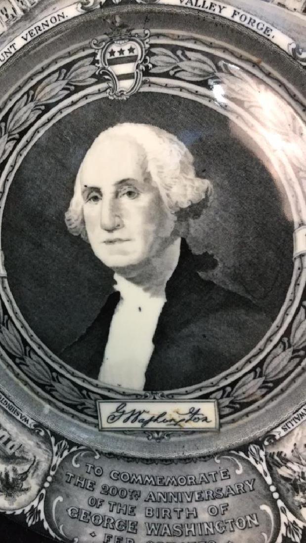 Bi-Centennial George Washington Plate , Lamberton - 4