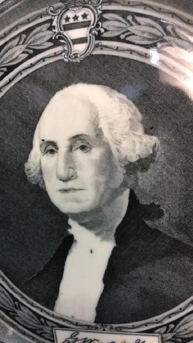 Bi-Centennial George Washington Plate , Lamberton - 5