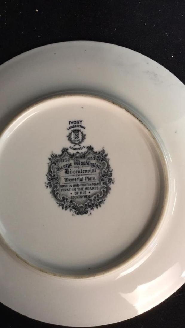 Bi-Centennial George Washington Plate , Lamberton - 7