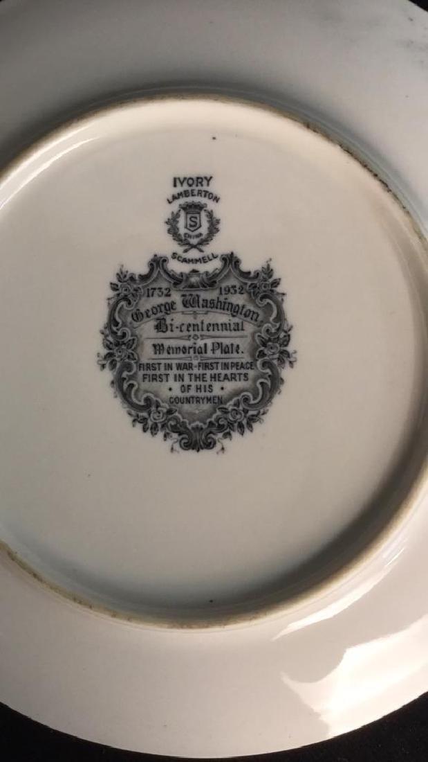 Bi-Centennial George Washington Plate , Lamberton - 8