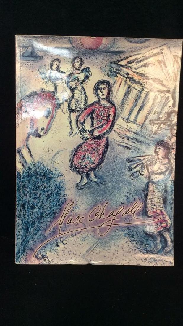 Lot 3 Art Books, MOMA, Chagall, Hirschfield - 4