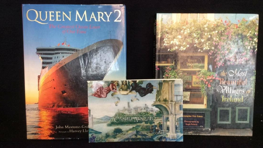 Lot 3 Miscellaneous Coffee Table Books