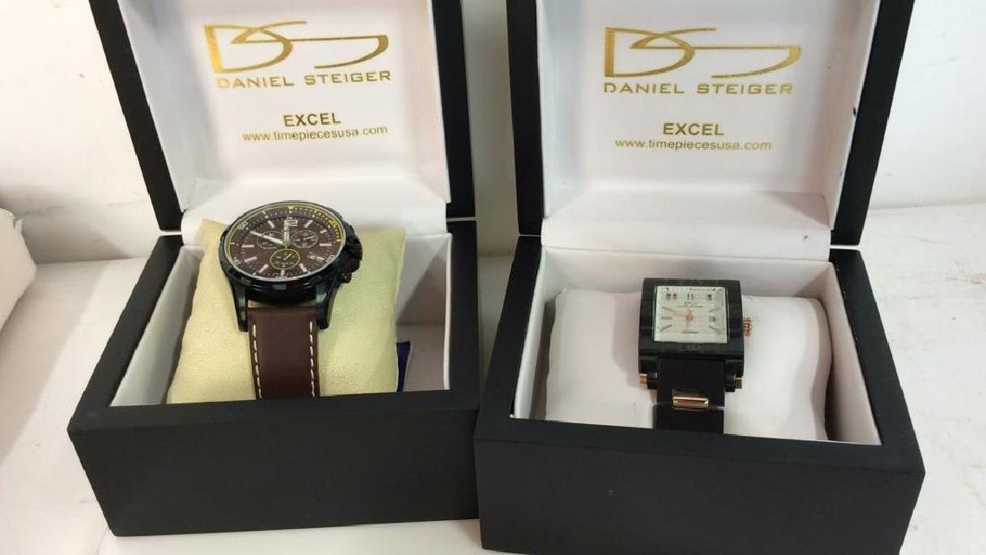 Pair DANIEL STEIGER Excel Men's Wristwatches - 2
