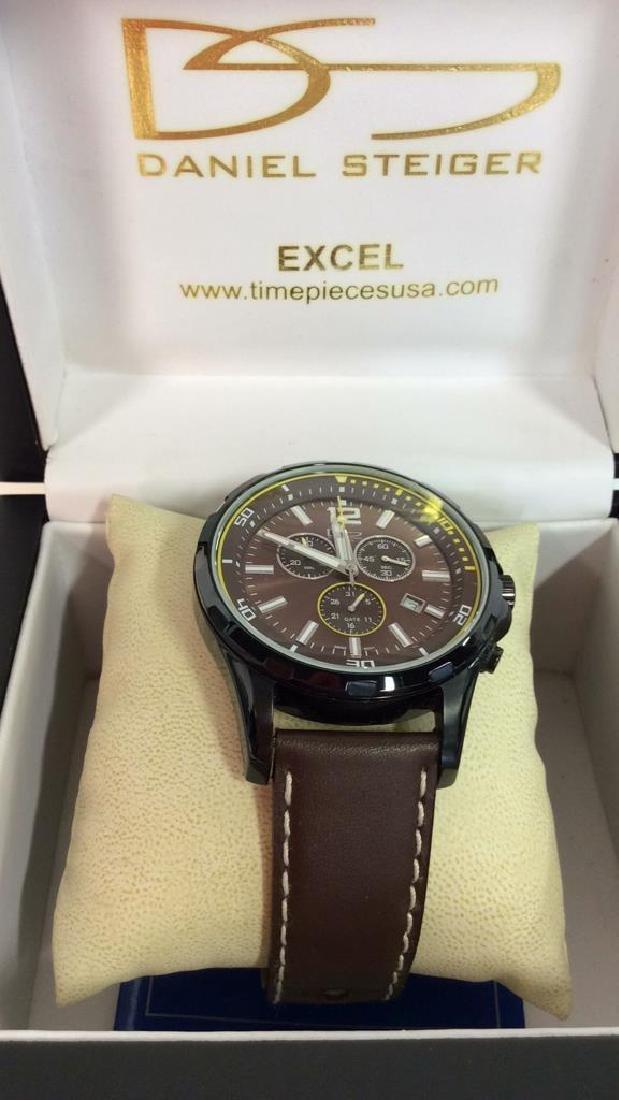 Pair DANIEL STEIGER Excel Men's Wristwatches - 3