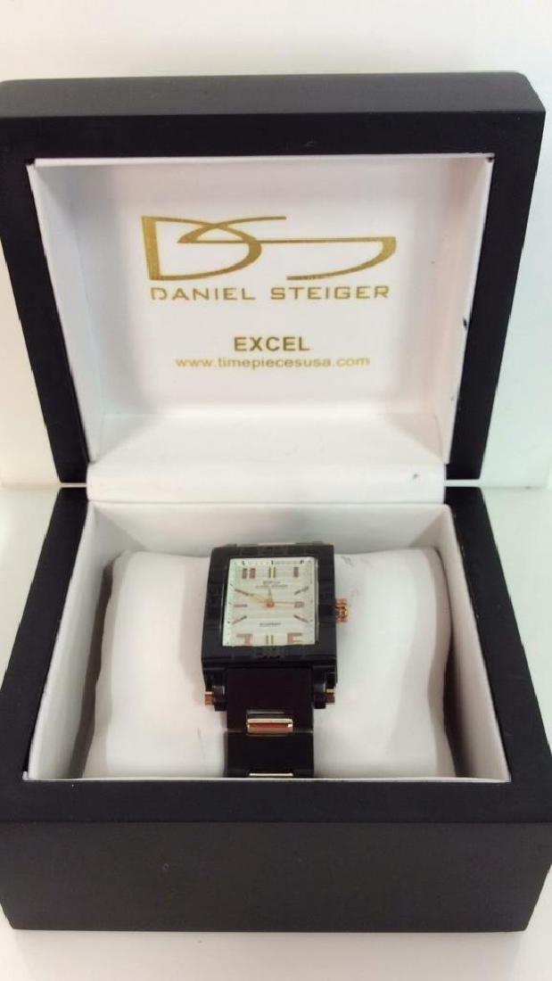 Pair DANIEL STEIGER Excel Men's Wristwatches - 6