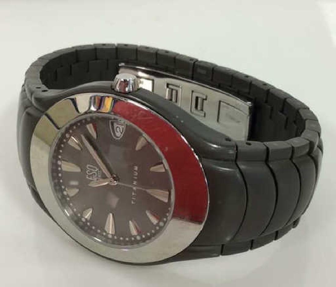 Pair ESQUIRE SWISS Men's Wristwatches - 4