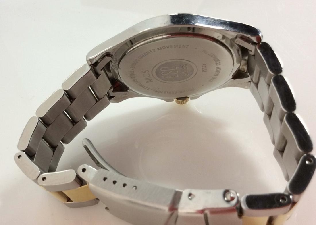 Pair ESQUIRE SWISS Men's Wristwatches - 8