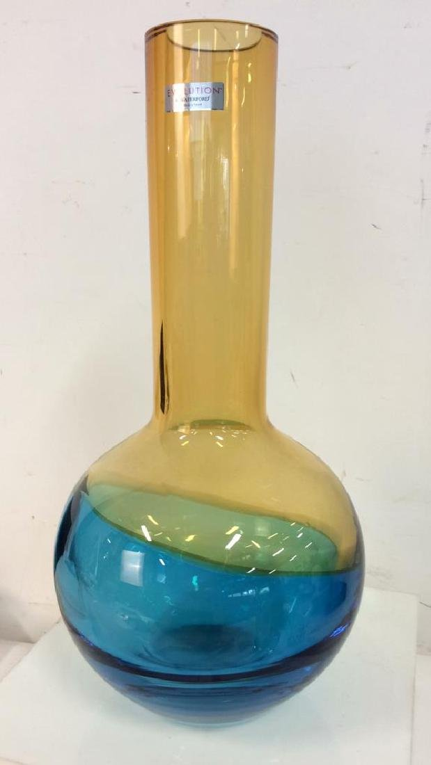 EVOLUTION BY WATERFORD Vintage Glass Vase