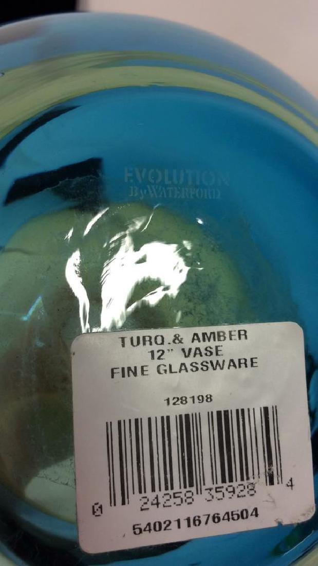 EVOLUTION BY WATERFORD Vintage Glass Vase - 8