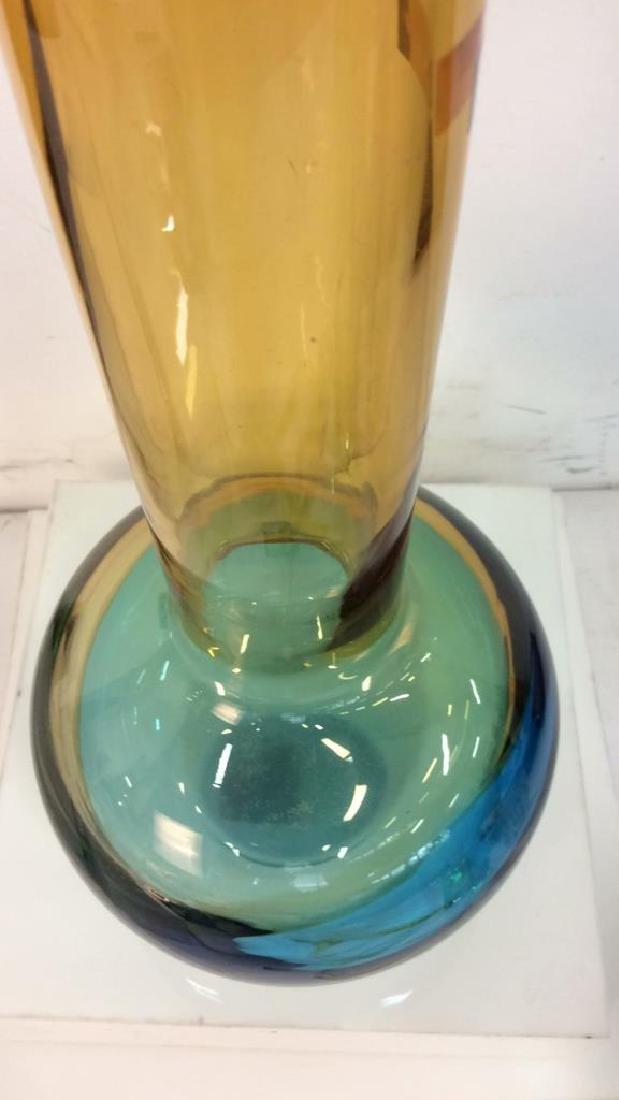EVOLUTION BY WATERFORD Vintage Glass Vase - 9