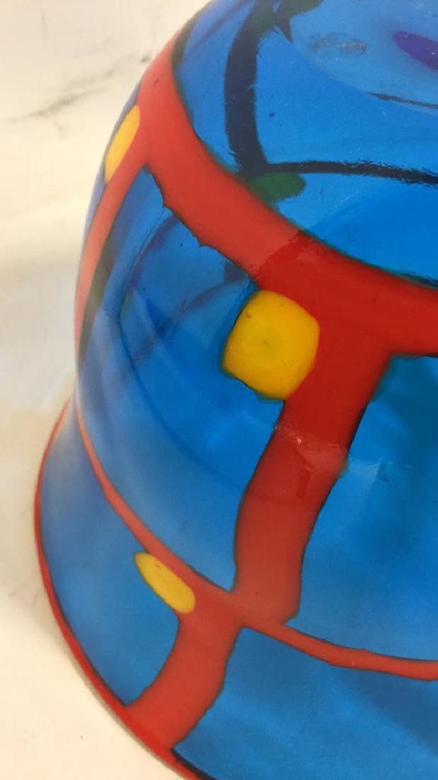 Mid Century Modern Vetreria Glass Bowl - 10