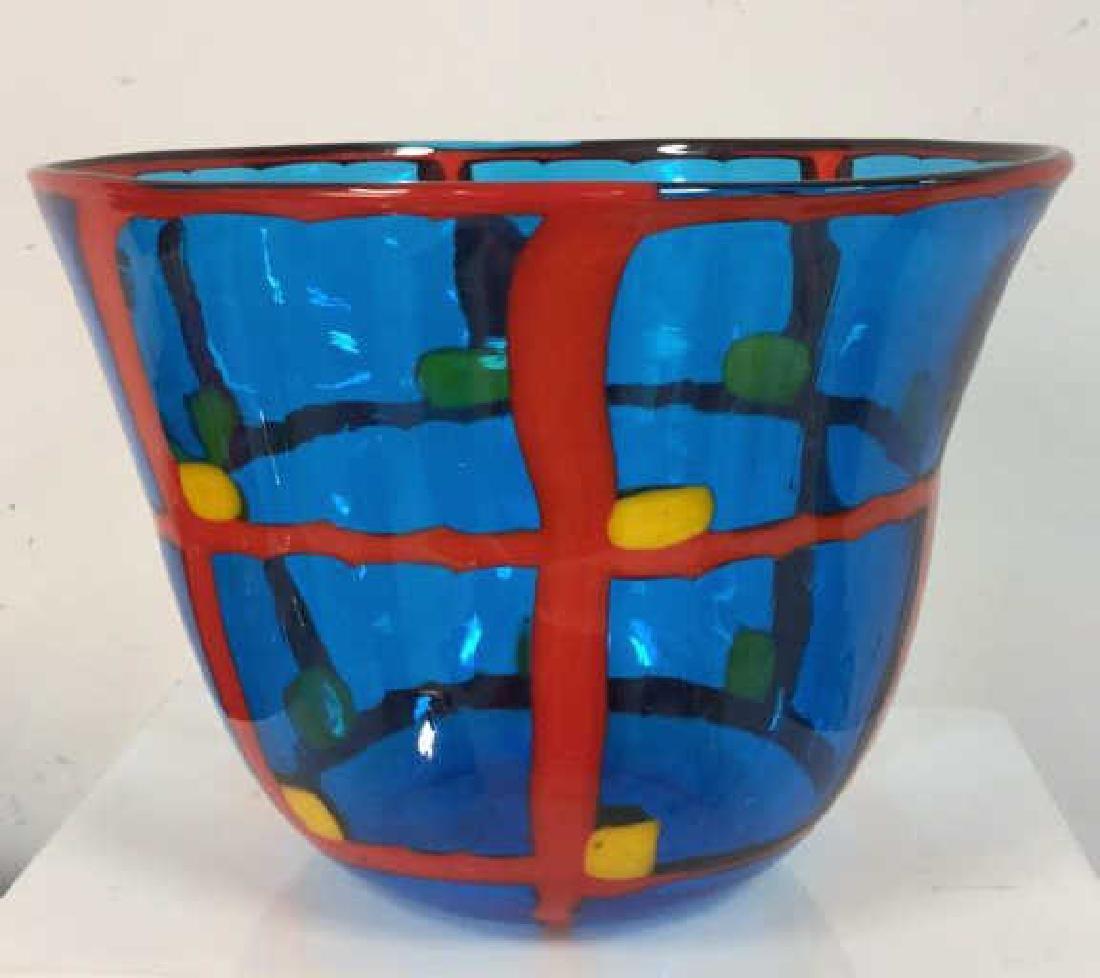 Mid Century Modern Vetreria Glass Bowl