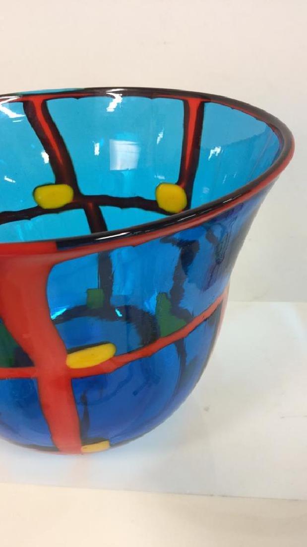Mid Century Modern Vetreria Glass Bowl - 2