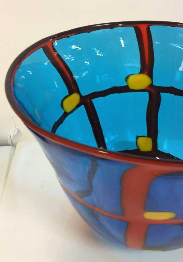 Mid Century Modern Vetreria Glass Bowl - 3