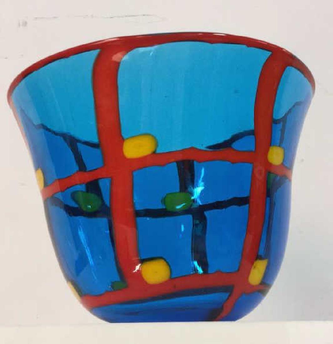 Mid Century Modern Vetreria Glass Bowl - 4