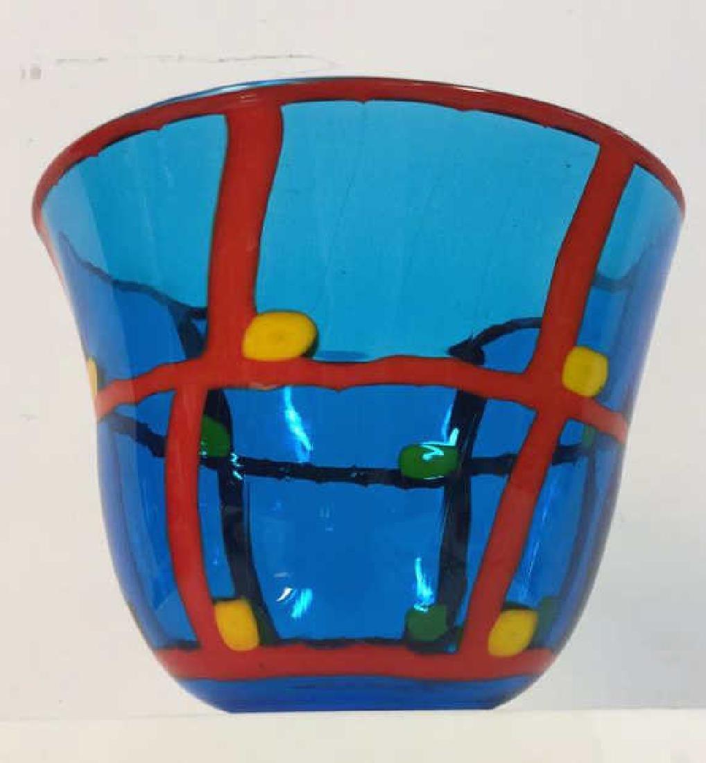 Mid Century Modern Vetreria Glass Bowl - 5