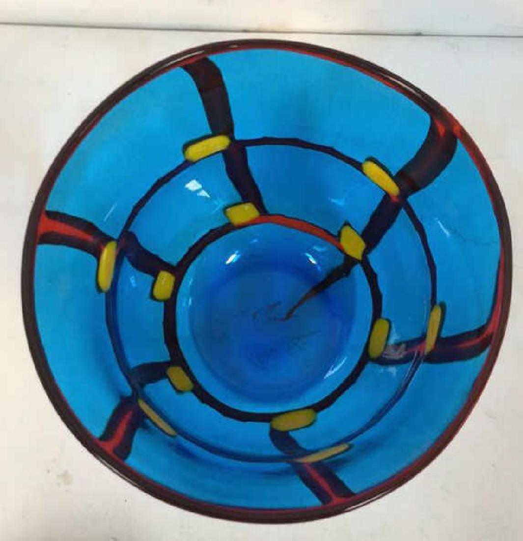 Mid Century Modern Vetreria Glass Bowl - 6