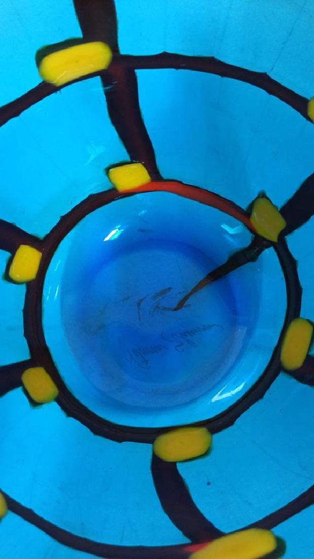 Mid Century Modern Vetreria Glass Bowl - 7