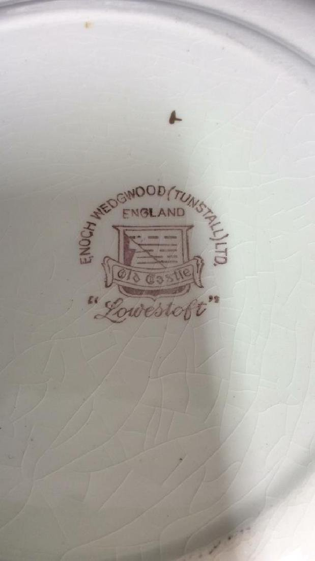 Lot 7 ENOCH WEDGWOOD TUNSTALL LTD Plates - 4