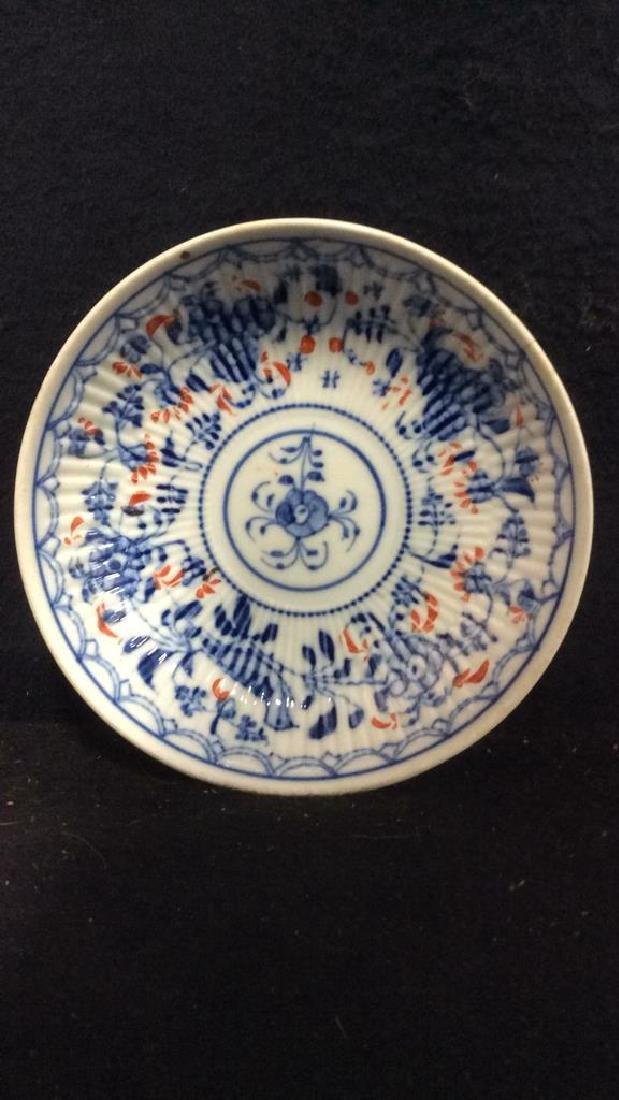 Lot 3 Vintage Meissen porcelain Plates - 3