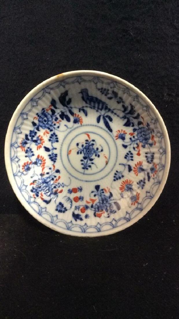 Lot 3 Vintage Meissen porcelain Plates - 4