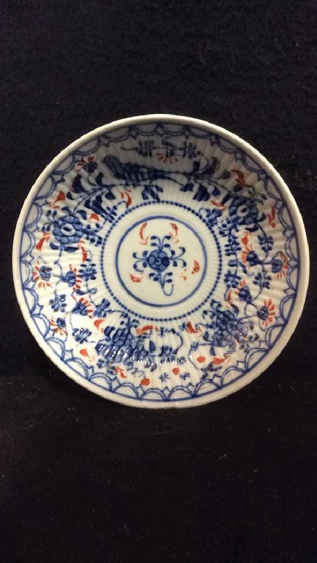 Lot 3 Vintage Meissen porcelain Plates - 5