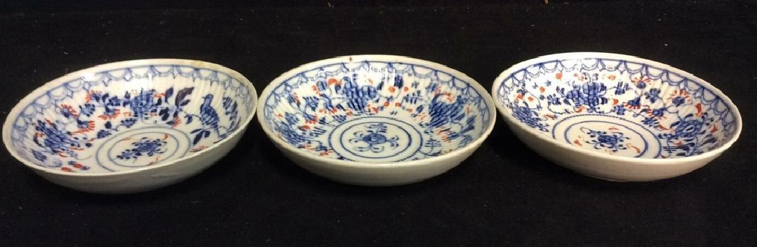Lot 3 Vintage Meissen porcelain Plates - 7