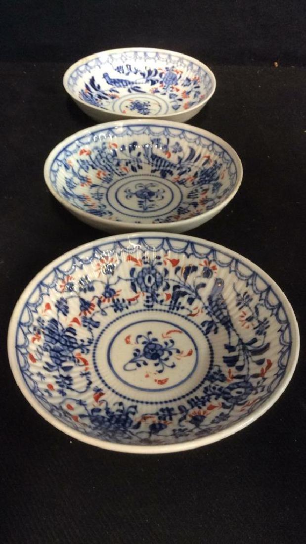 Lot 3 Vintage Meissen porcelain Plates - 9