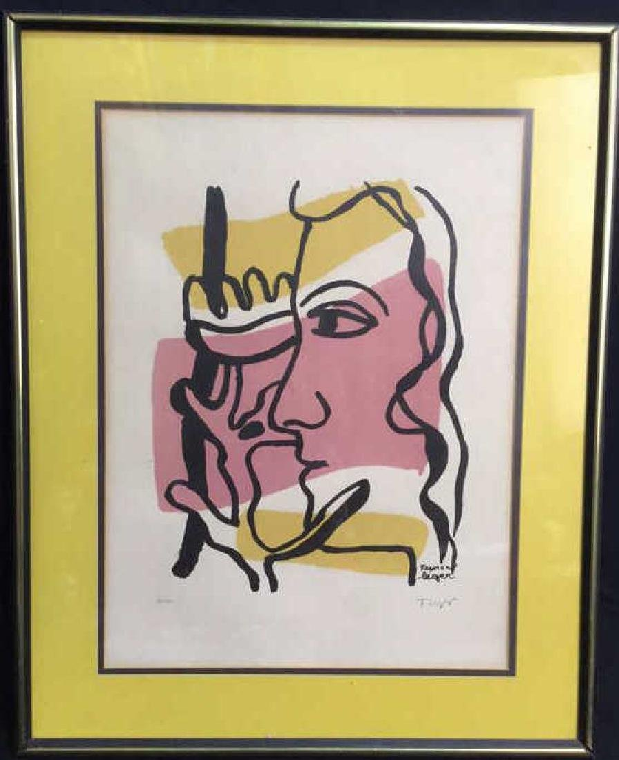 Fernand Leger Woman Tree C 1949, signed numbered - 2