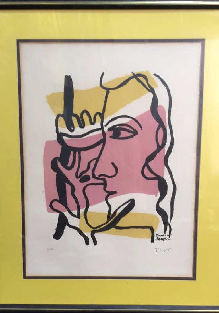 Fernand Leger Woman Tree C 1949, signed numbered - 3