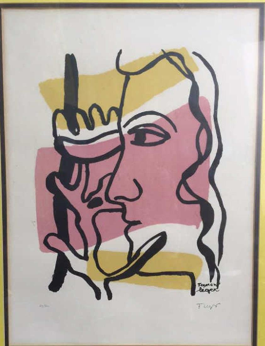 Fernand Leger Woman Tree C 1949, signed numbered - 4