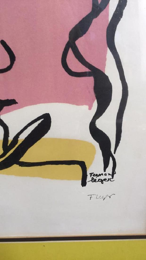 Fernand Leger Woman Tree C 1949, signed numbered - 6