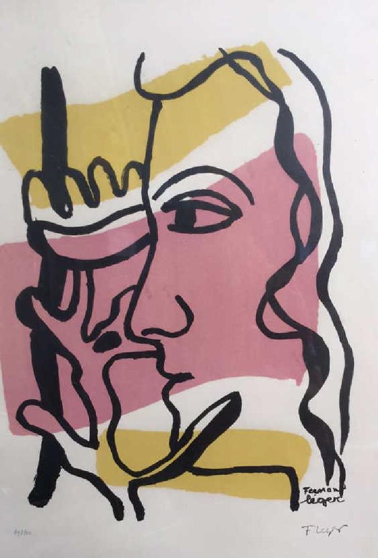 Fernand Leger Woman Tree C 1949, signed numbered - 7