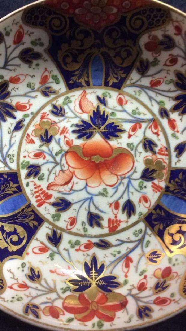 Vintage Imari Porcelain Tea Cup & Saucer - 10