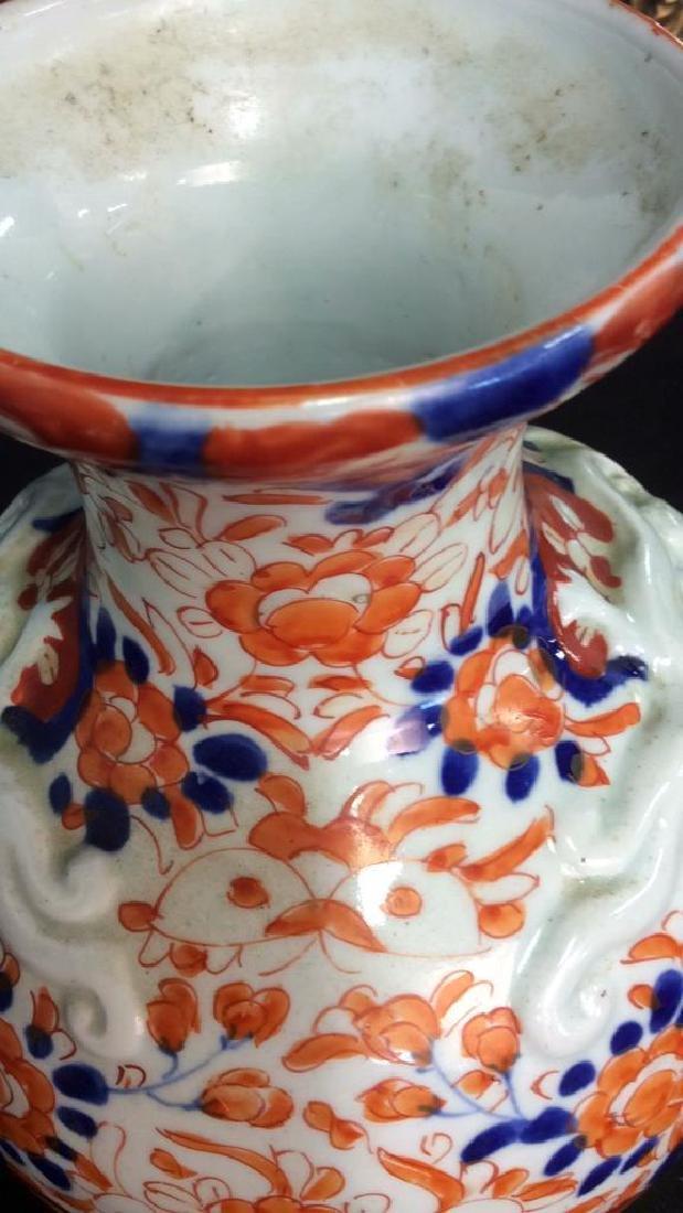 Antique Asian Imari Porcelain Vase - 7