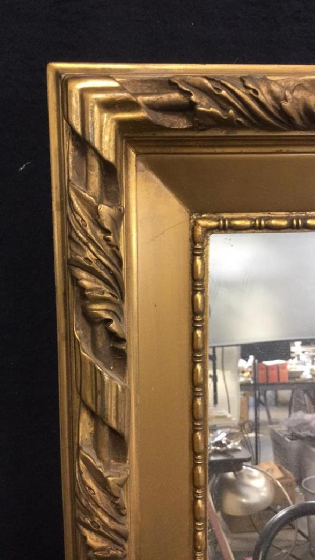 Gold Toned Gilt Frame Mirror - 5