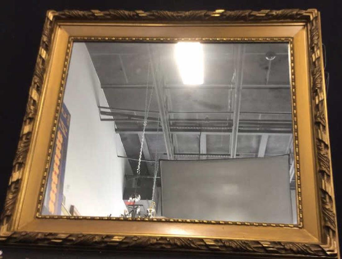 Gold Toned Gilt Frame Mirror - 6